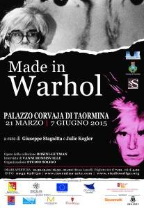 Warhol events Taormina